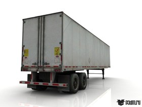 Semi trailer freestanding