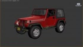 Jeep from Outlast