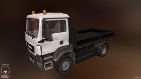 MAN TGS Little Flatbed