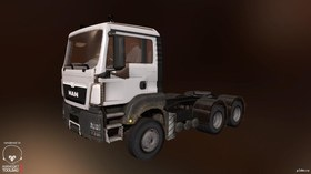 MAN TGS Low Loader