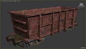 Train wagon ore