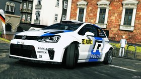 Volkswagen Polo R WRC test car