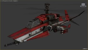 Red Hood Helicopter