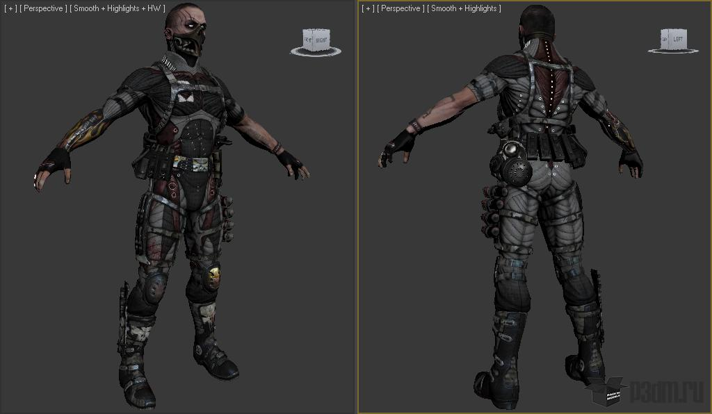 Shade » Pack 3D models
