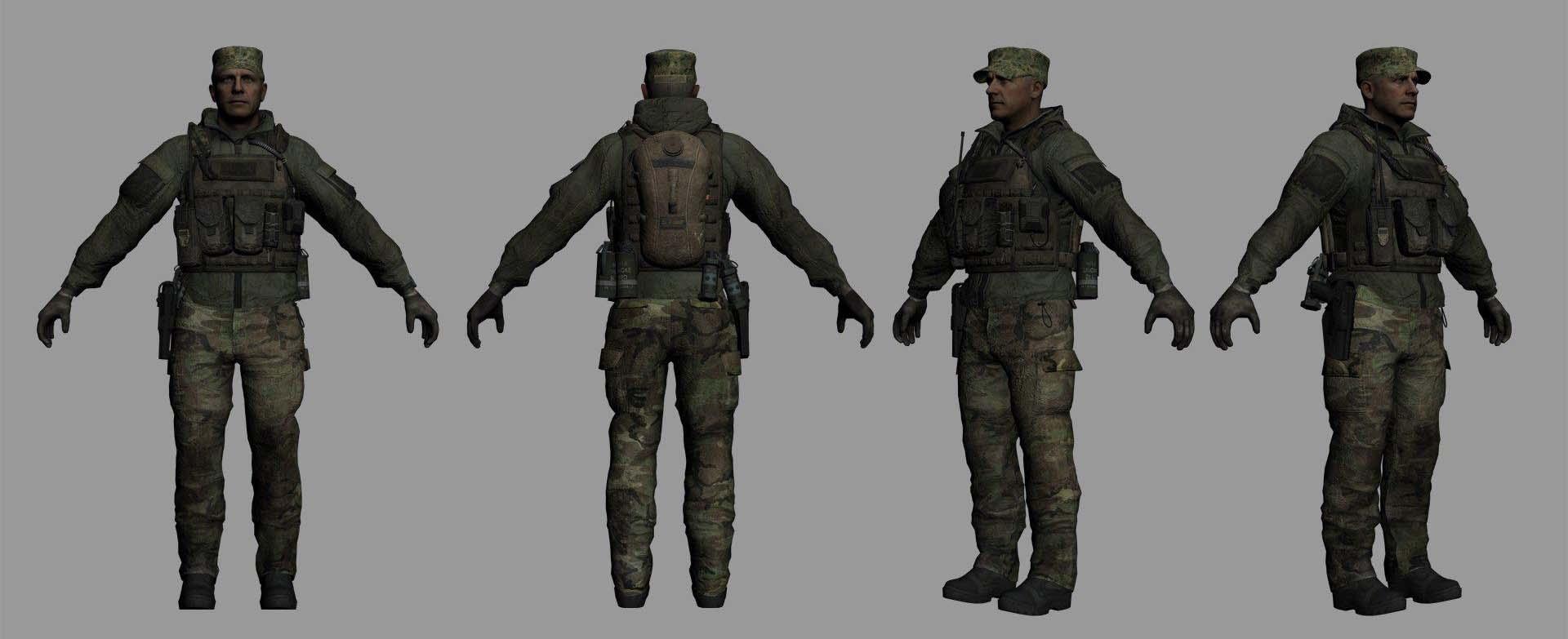 Elias Assault 3 Pack 3d Models