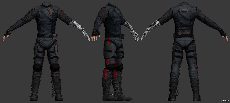 Sgt Rex Power Colt Pack 3d Models