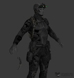 Sam Finalmission stealthsuit
