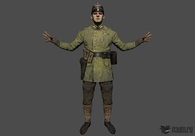German soldier nco