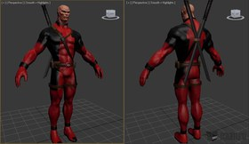 Deadpool (Unmasked)