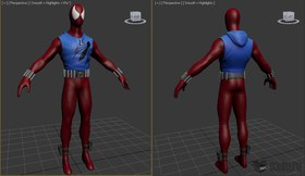 Spider-Man (Scarlet Spider)