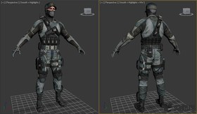 Soldier from fear3