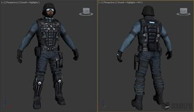 Armacham Black Ops Soldiers