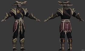 Mortal Kombat X » Pack 3D models
