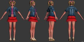 Juliet Starling (Date Night skin)