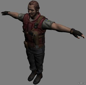 Barry Burton[S.T.A.R.S]