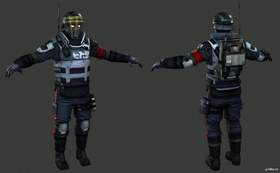 Helghast Assault Police