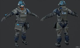 VSA Security Trooper