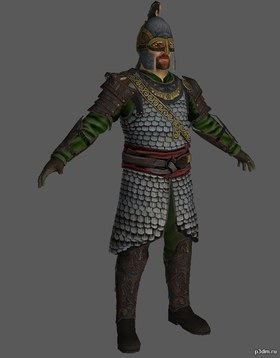 Rohaniir Warrior (Helms Deep)