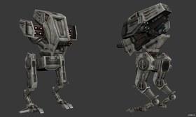 AT-MP - All Terrain Missile Platform