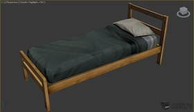 Barracks bed