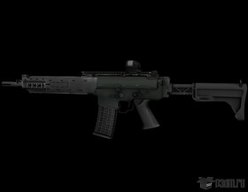 AK5C with SRS02 red dot sight