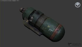 Canister bomb
