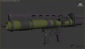 Heavy rocket launcher
