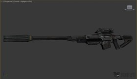 Sniper Rifle from Turok