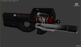 P90 Flamethrower