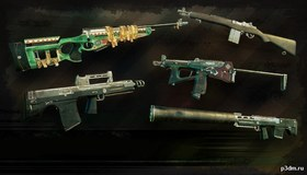Survarium weapons