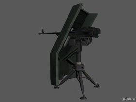 Gun shield and tripod